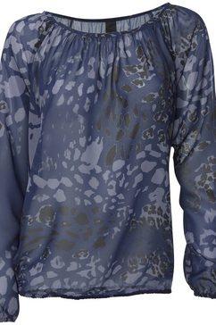 blouse zonder sluiting blauw