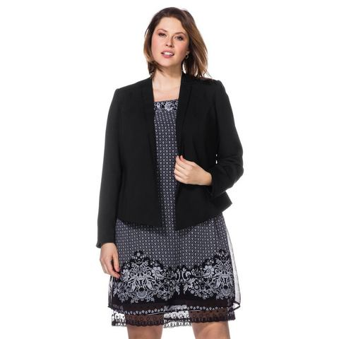 SHEEGO STYLE trendy blazer