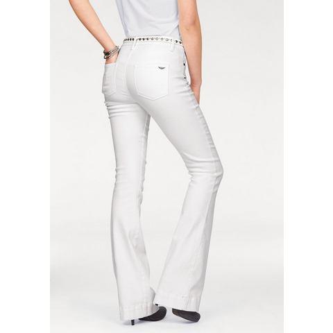 ARIZONA Wijd uitlopende jeans in 5-pocketsstijl