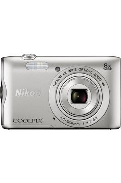 Coolpix A300 compactcamera, 20,1 megapixel, 8x optische zoom, 6,7 cm (2,7 inch) display