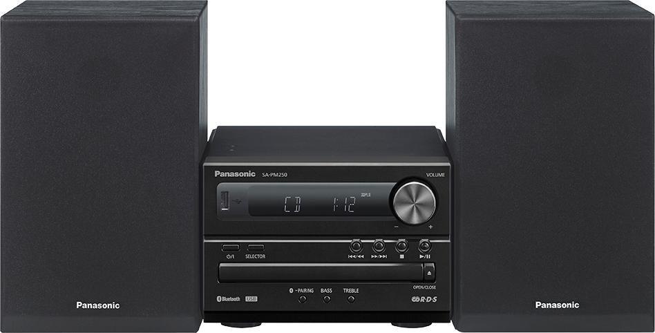 Panasonic SC-PM250 micro-set (bluetooth), FM-tuner met RDS) nu online bestellen