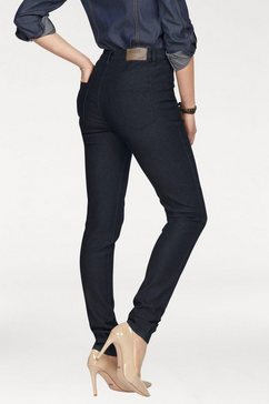 arizona high-waist-jeans met stretch blauw