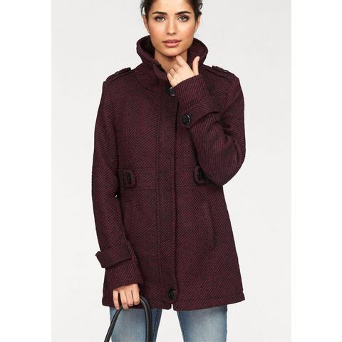 BOYSEN'S Coat in tweed-look