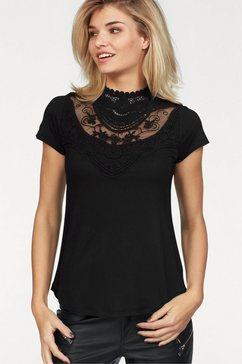 laura scott shirt met ronde hals zwart
