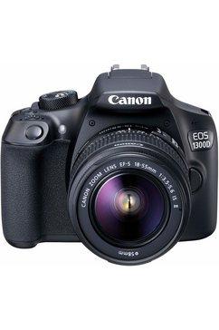 EOS 1300D Kit spiegelreflexcamera, EF-S 18-55 mm IS II zoom, 18 megapixel