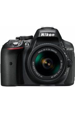 D5300 Kit spiegelreflexcamera, AF-P 18-55 VR zoom, 24,2 megapixel, 8,1 cm (3,2 inch) display