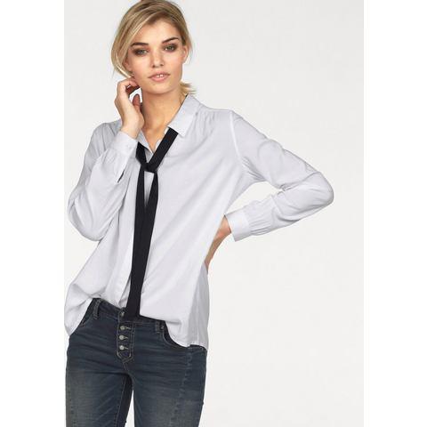 LAURA SCOTT blouse met kraagstrik