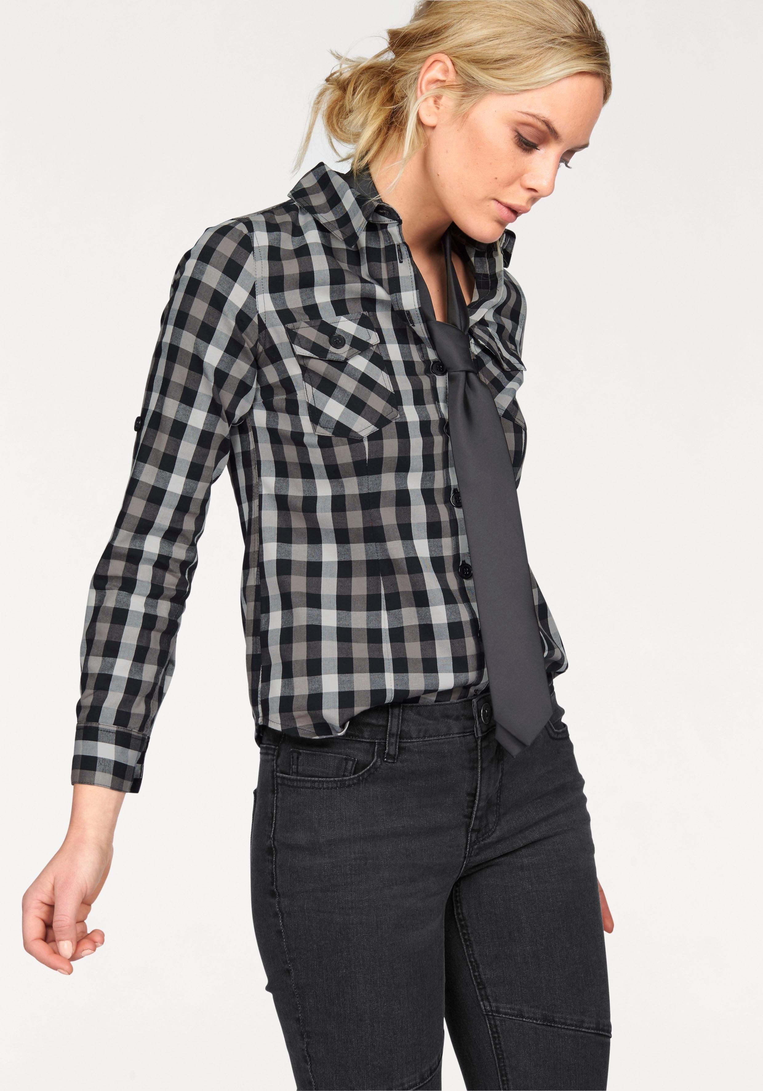 Arizona geruite blouse Casual houthakkers-look goedkoop op otto.nl kopen