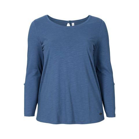 NU 20% KORTING: SHEEGO CASUAL shirt met oprolbare mouwen