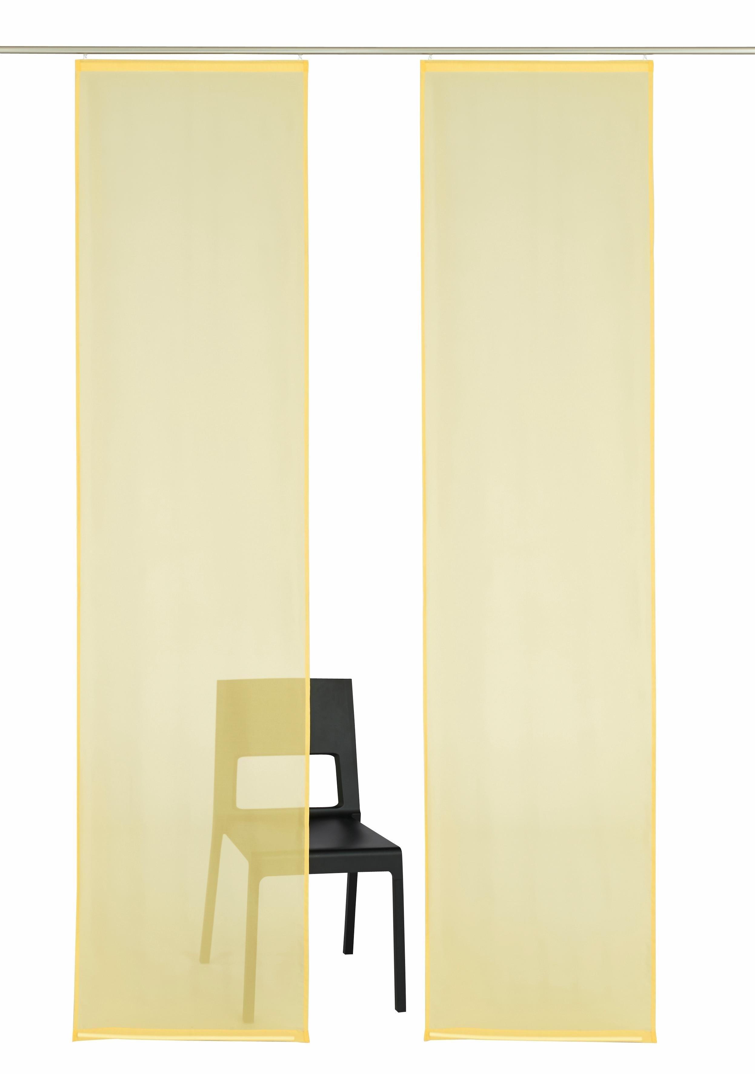 My Home Paneelgordijn, »Xanten«, met klittenband (set van 2 met accessoires) online kopen op otto.nl