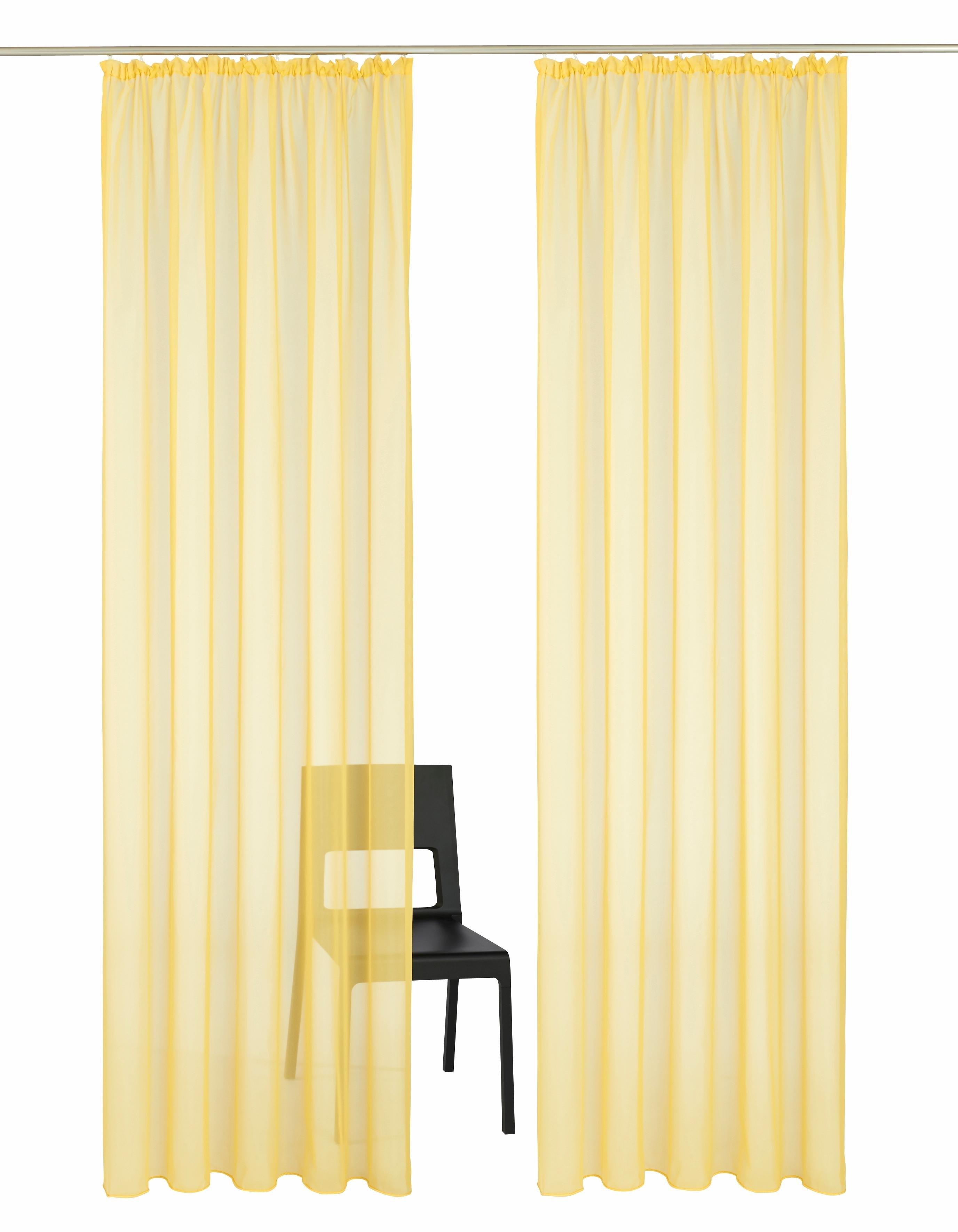 My Home Gordijn, »Xanten«, met rimpelband (set van 2) nu online kopen bij OTTO