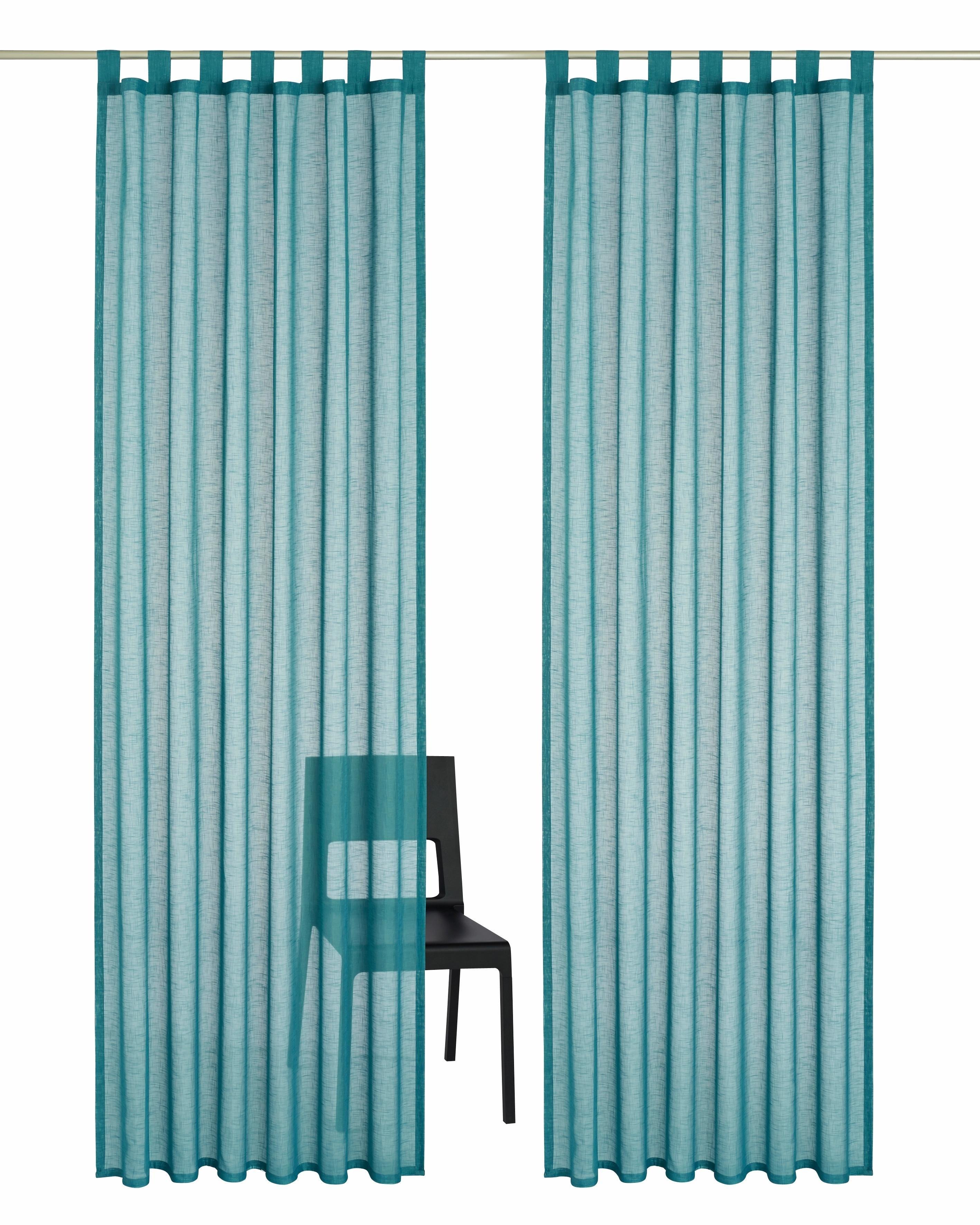 my home Gordijn, »Regina«, met lussen (set van 2) online kopen op otto.nl