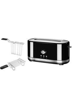 ® handmatige toaster met lange gleuven 5KMT4116EOB, onxy zwart
