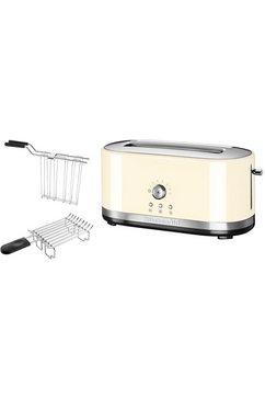 ® handmatige toaster met lange gleuven 5KMT4116EAC, crème