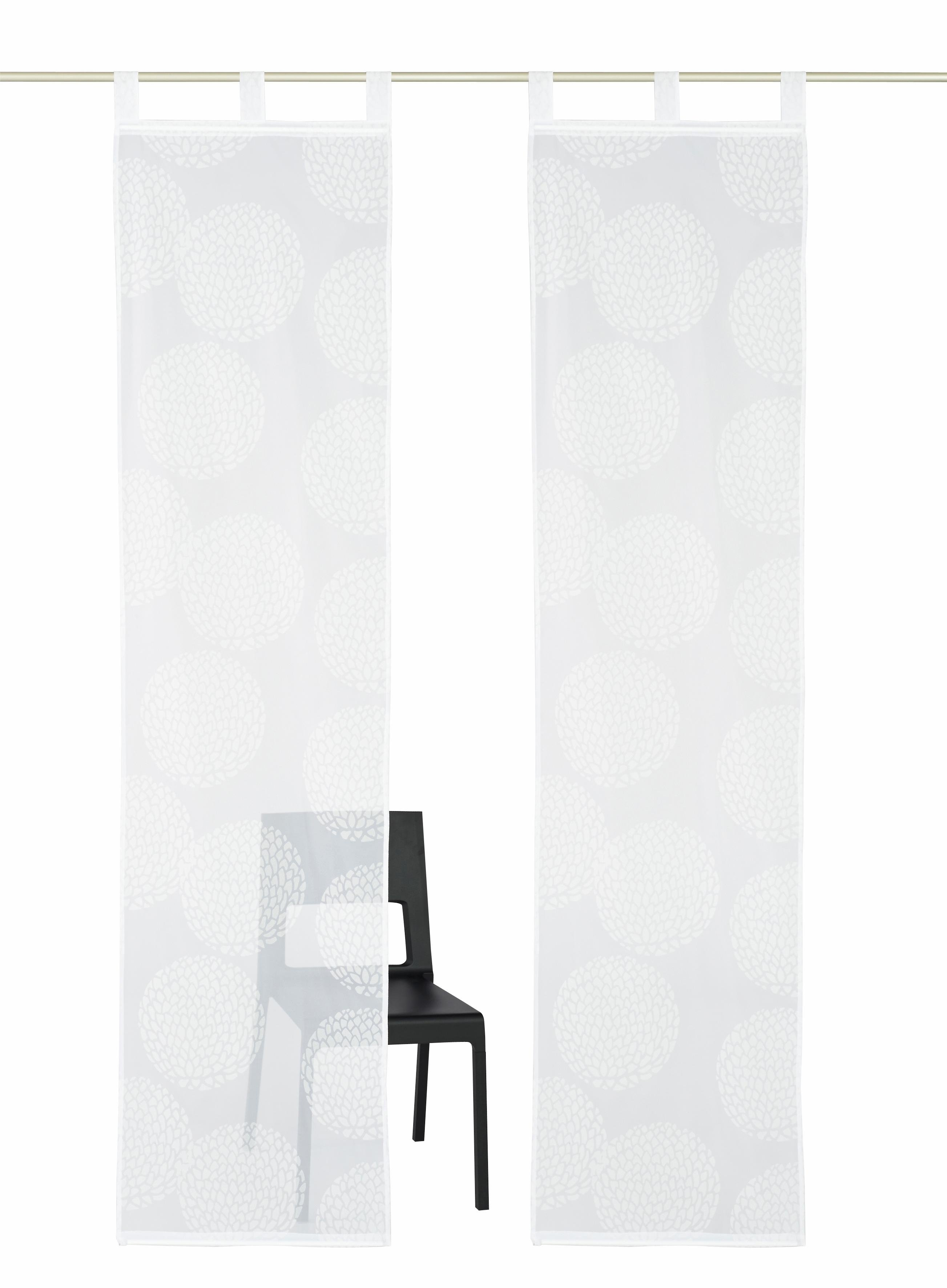my home paneelgordijn Belem Kant-en-klaargordijn, inclusief verzwaringsstang, transparant (2 stuks) goedkoop op otto.nl kopen