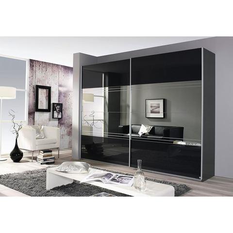 grijze zweefdeurkast Places Of Style Breedte 226 cm 2 deurs 498071