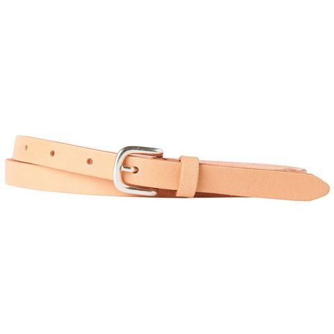 TOM TAILOR riem »narrow leather belt«