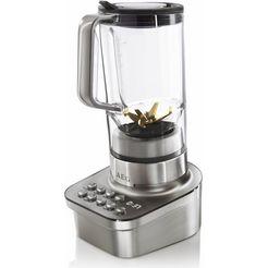 aeg blender gourmet pro sb 9300, 1200 w, edelstaal zilver