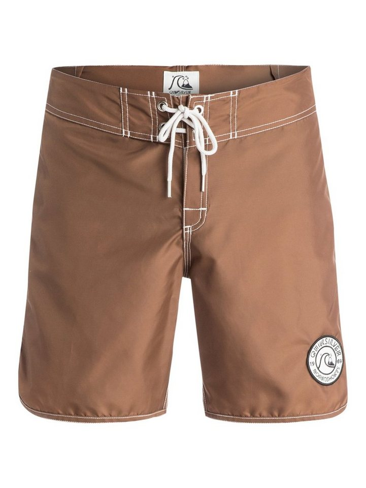 NU 20% KORTING: Quiksilver Board Shorts »Nylon Original Scallop 18«