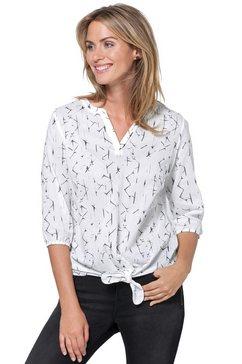 ambria blouse van puur katoen wit
