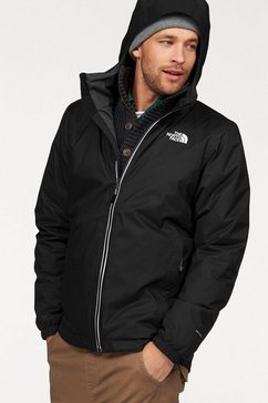 the north face functioneel jack »quest insulated« zwart