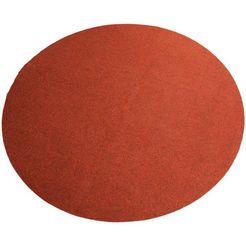 vloerkleed, rond, living line, »kunstgras premium«, geschikt voor binnen en buiten, getuft rood