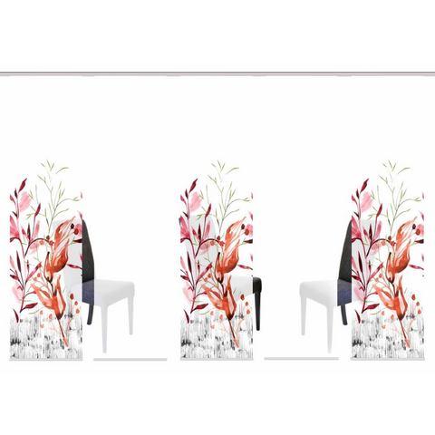 Paneelgordijn, HOME WOHNIDEEN, »LANSING«, set van meerdere gordijnen (met accessoires)