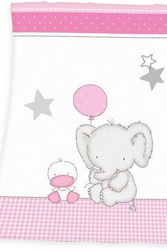 baby best babydeken »fynn elefant«, baby best wit
