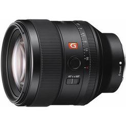 sony sel-85f14gm, volledig formaat g-master 85 mm portretobjectief, hoge lichtsterkte f1.4 zwart
