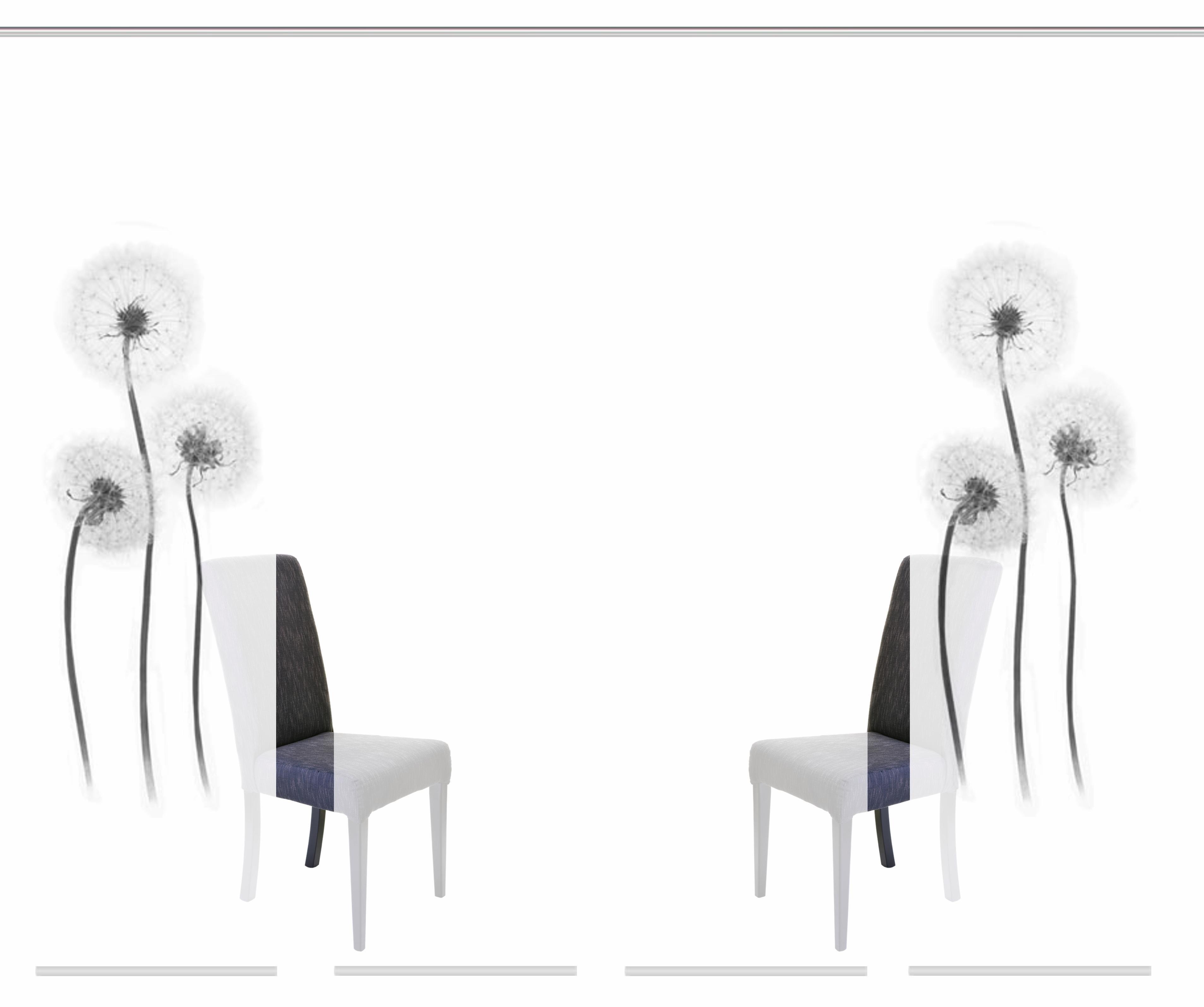 HOME WOHNIDEEN Paneelgordijn, »CORK«, klittenband set van 4 nu online bestellen