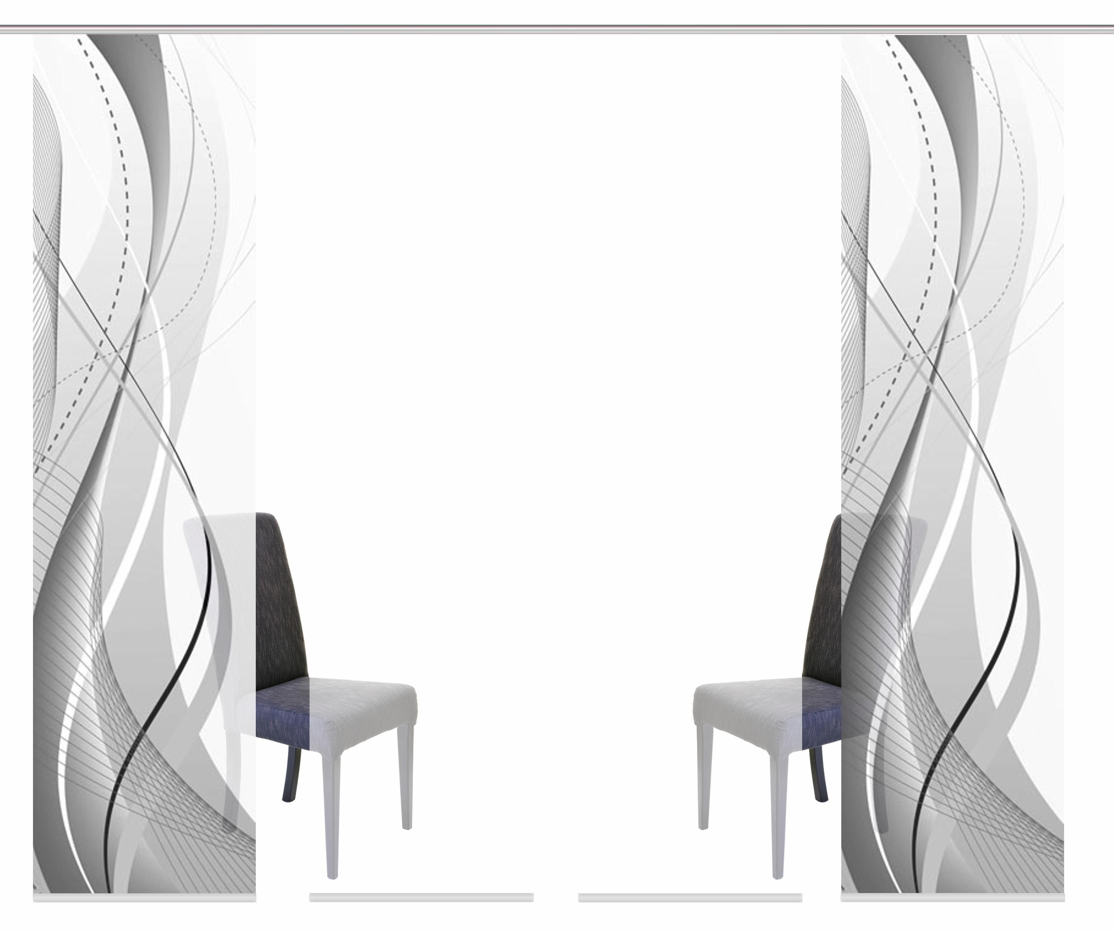 Paneel Gordijn 6 : Paneelgordijn wuxi« home wohnideen klittenband set van