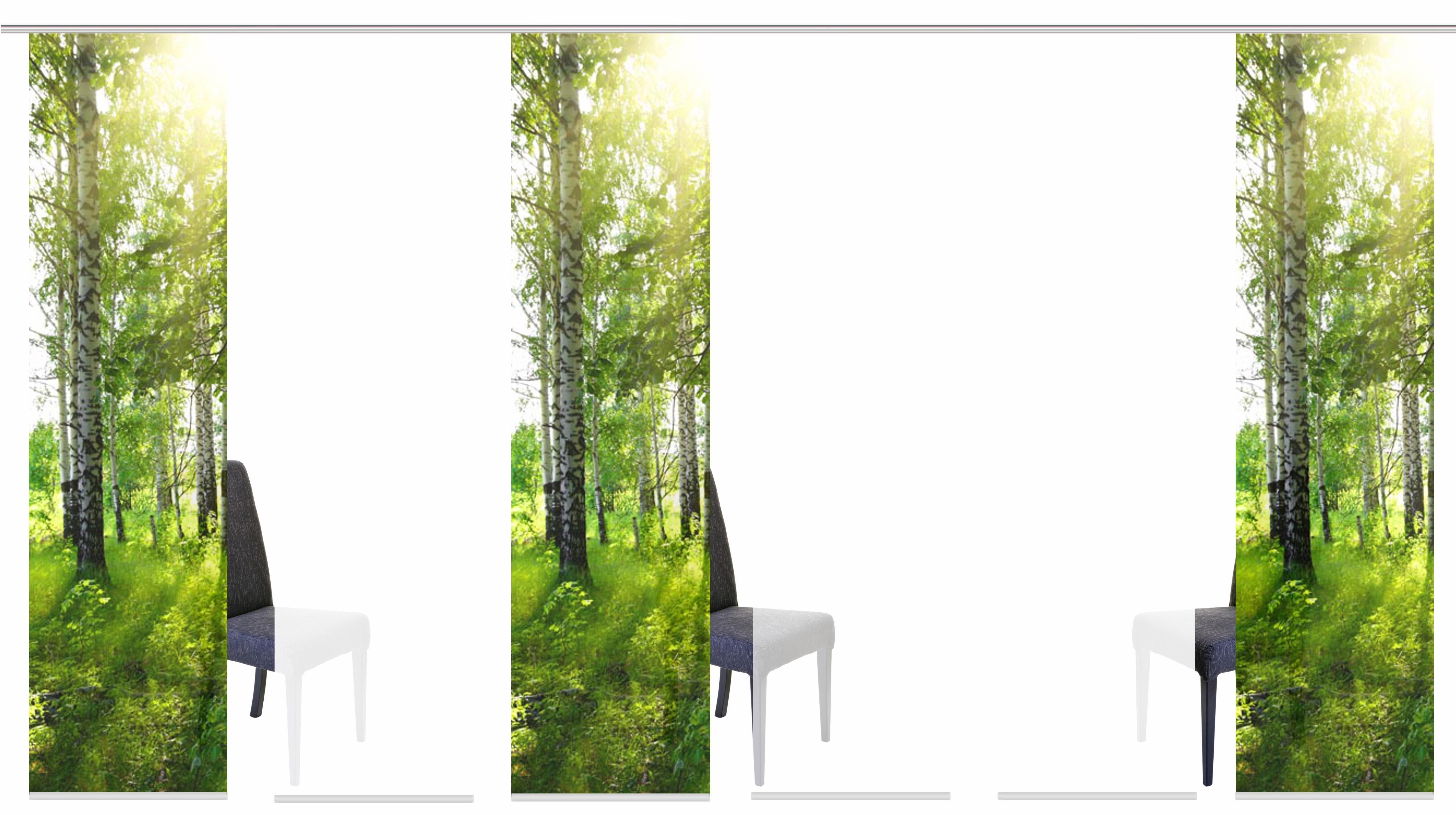 Paneel Gordijn 6 : Paneelgordijn galway« home wohnideen klittenband set van