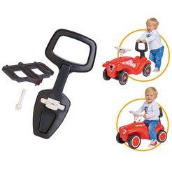 big 2-in-1 rugsteun en hulp om te leren lopen, »big bobby car walker 2-in-1 accessoires« zwart