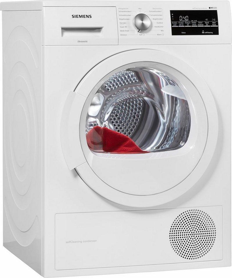 - SIEMENS wasdroger iQ500 WT45W460, A++, 7 kg