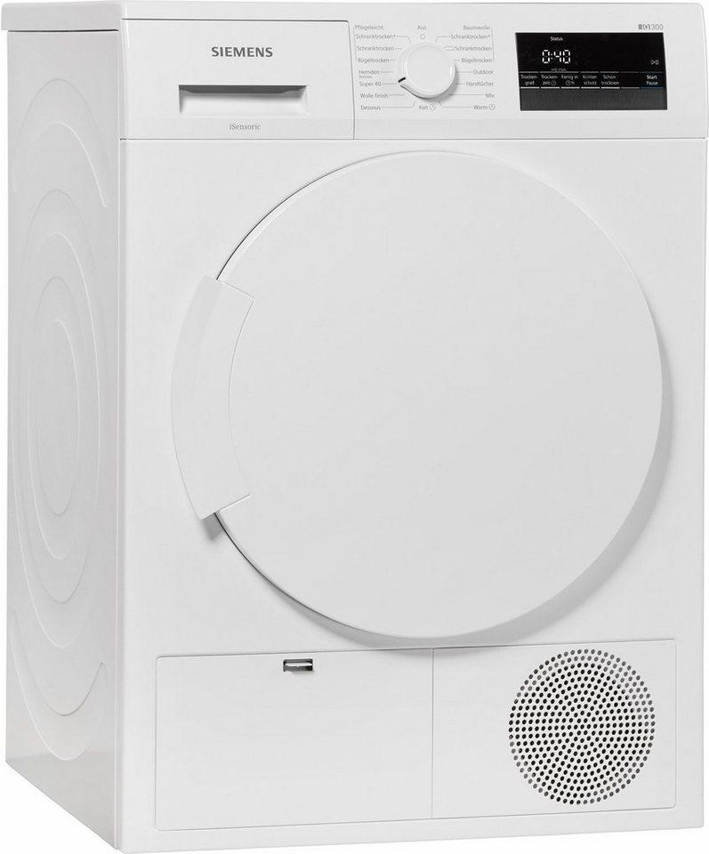- SIEMENS wasdroger iQ300 WT45H200, A++, 7 kg