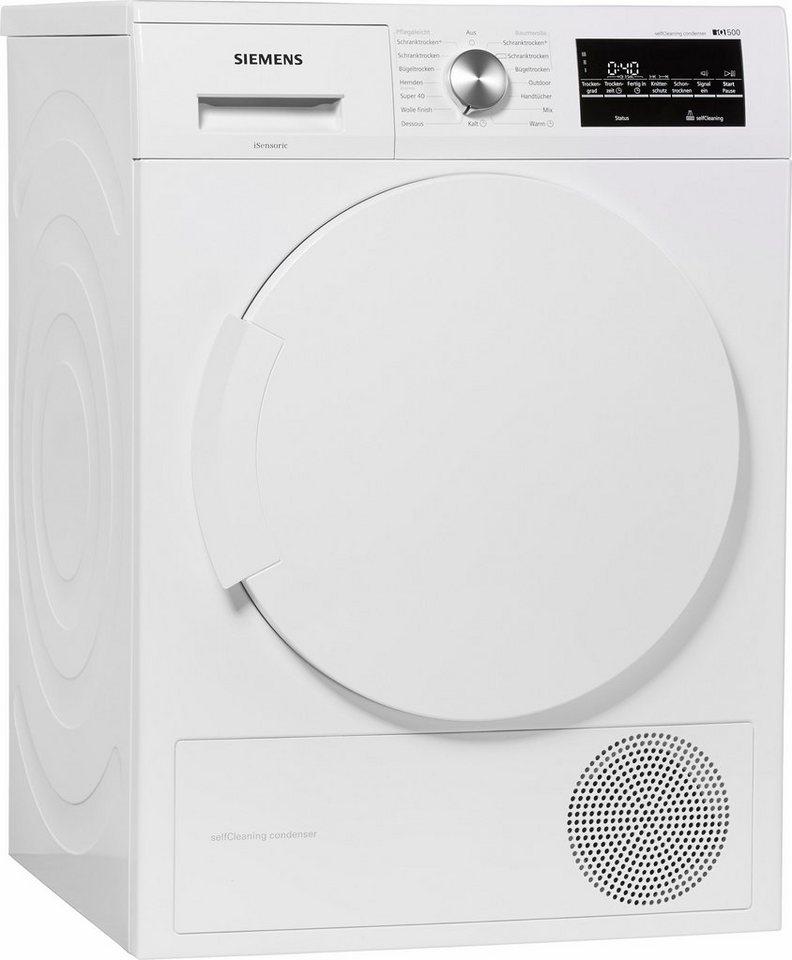- SIEMENS wasdroger iQ500 WT43W460, A++, 7 kg