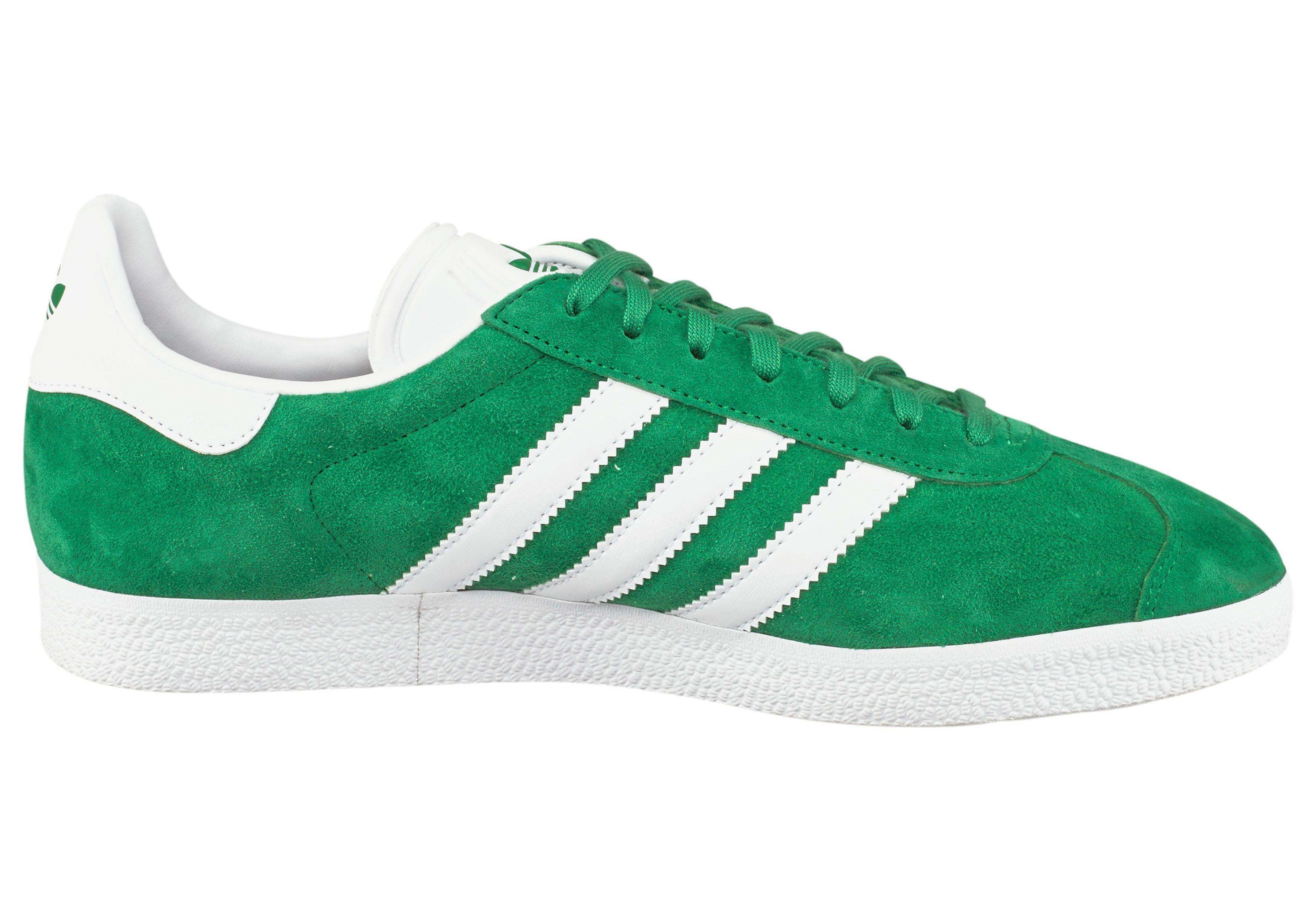 adidas gazelle groen wit