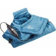 hydas nek--schouder--rug-verwarmingskussen 4688.1.00, extra lang groen