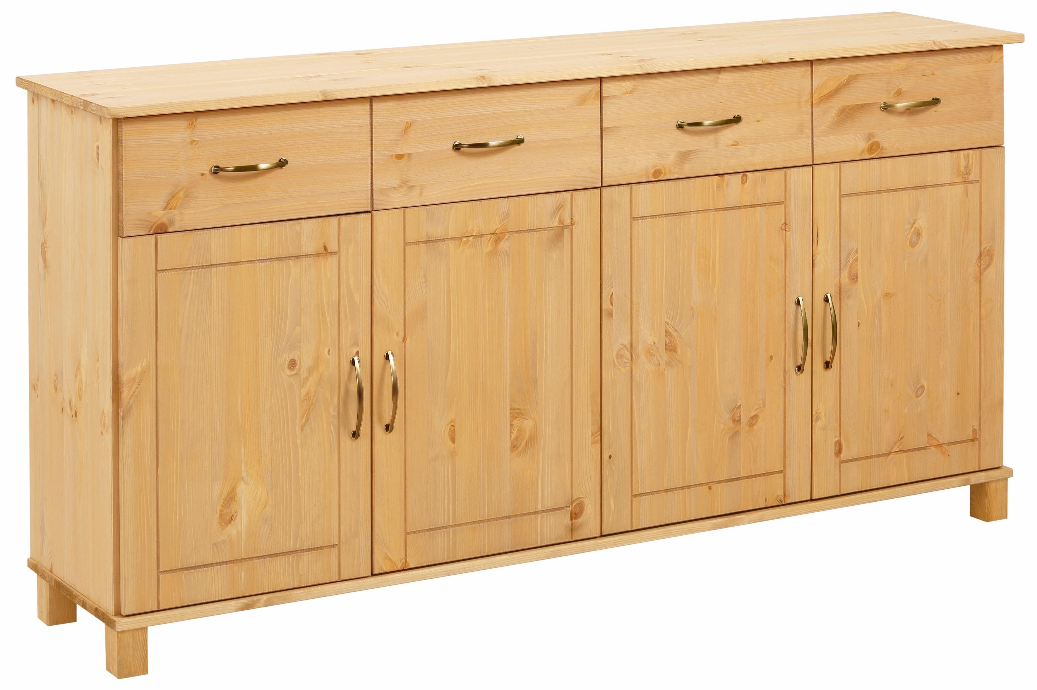 home affaire sideboard pivo breedte 156 cm online shop. Black Bedroom Furniture Sets. Home Design Ideas