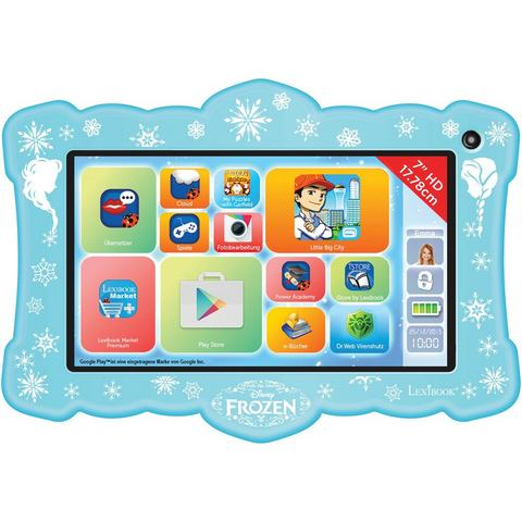 LEXIBOOK kindertablet »LexiTab Neon Frozen«