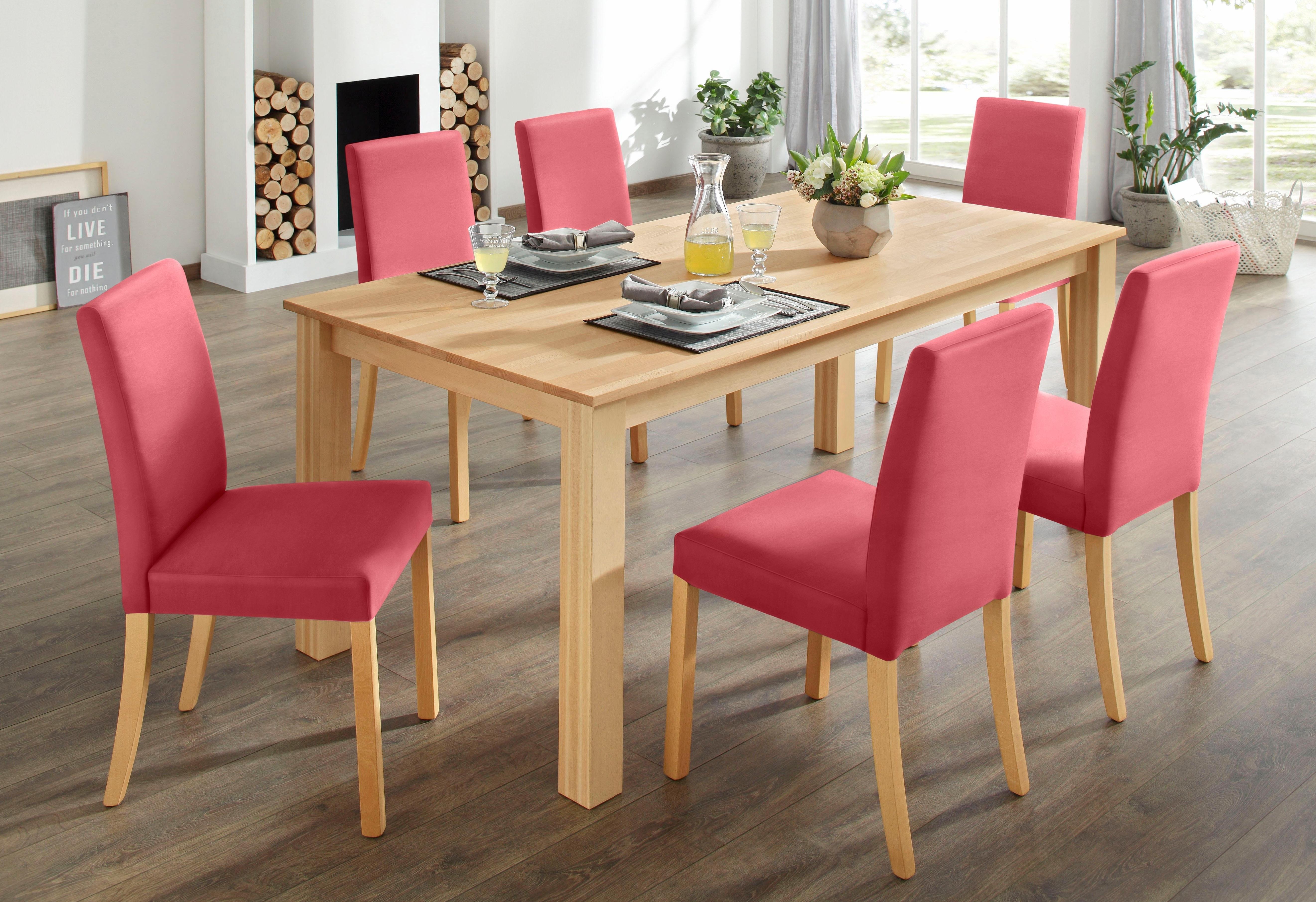 Awesome home affaire eetkamerset dlg with goedkope for Goedkope eettafel met stoelen
