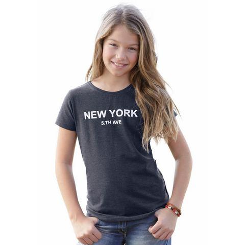 ARIZONA Meisjes-shirt met frontprint