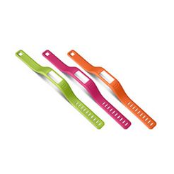 garmin reservearmbandjes »vivofit , lila, gruen (klein)« oranje