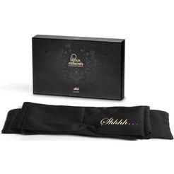 bijoux indiscrets slaapmasker shhh blindfold met lange satijnen band zwart