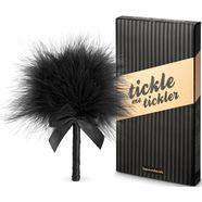 bijoux indiscrets tickler tickle me van fluwelig-zachte veren zwart