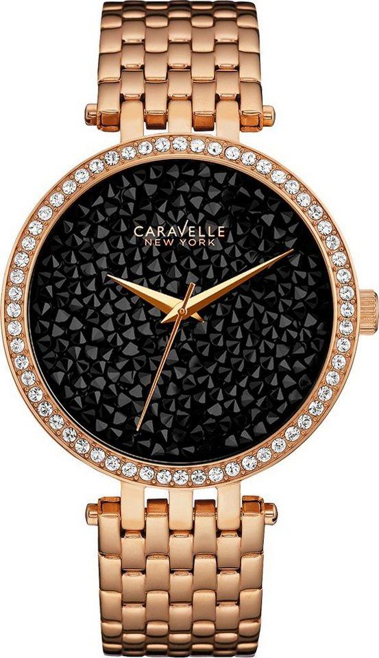 Caravelle New York kwartshorloge »Crystal Rock 44L231«