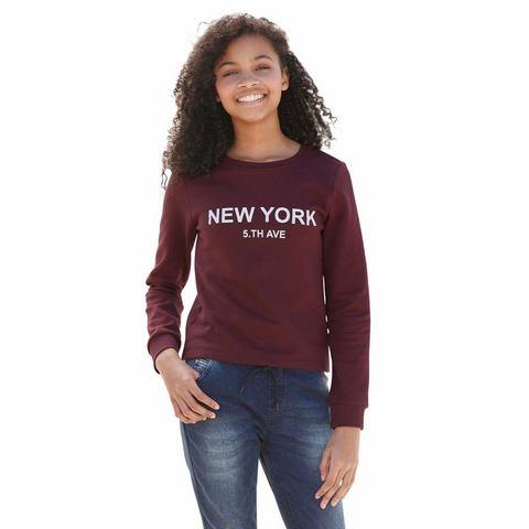 BUFFALO Sweatshirt met frontprint voor meisjes