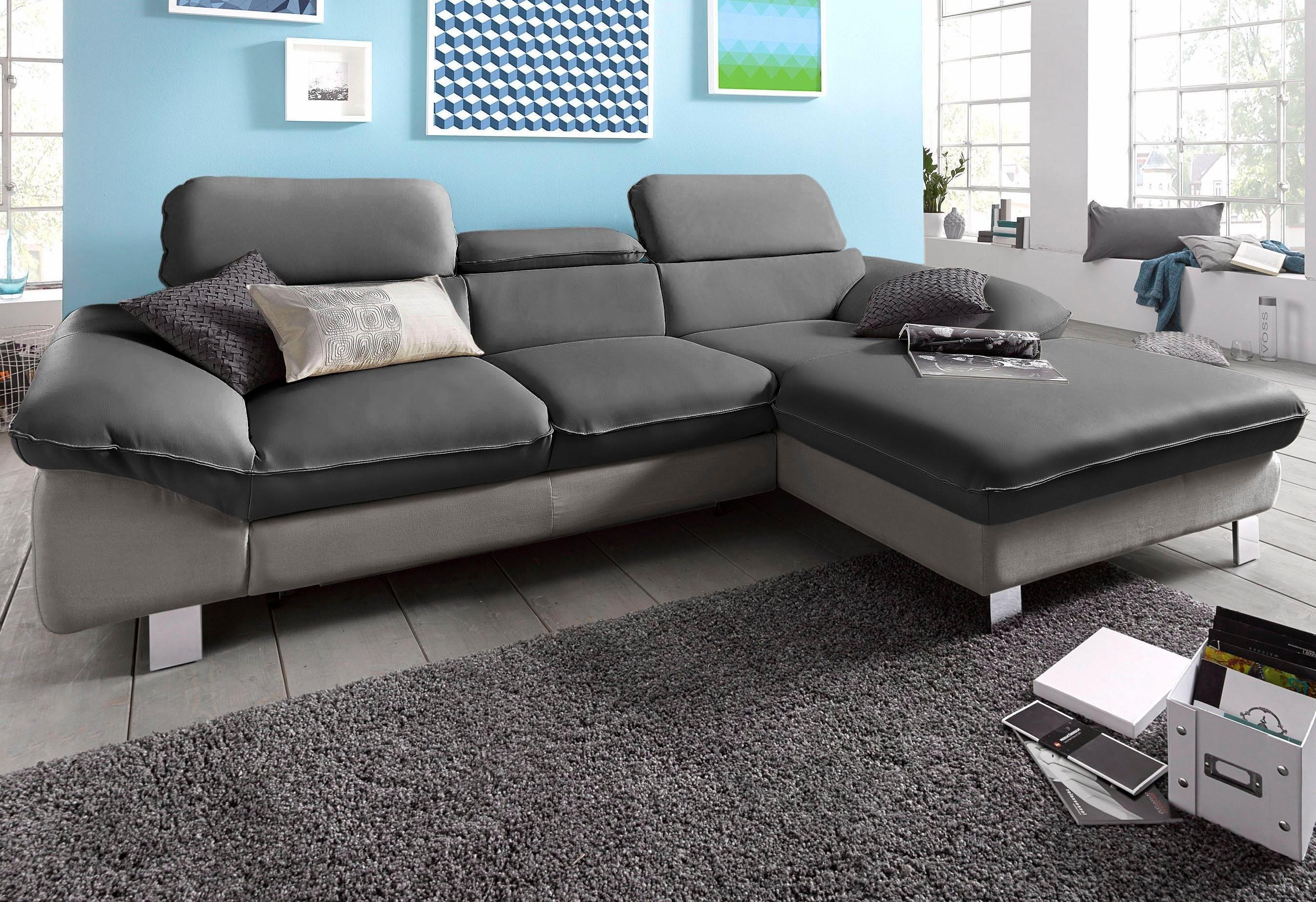 Hoekbank Chaise Lounge.Cotta Hoekbank Met Chaise Longue Naar Keuze Met Slaapfunctie Online