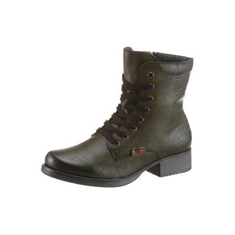 Dames schoen: RIEKER veterlaarsjes