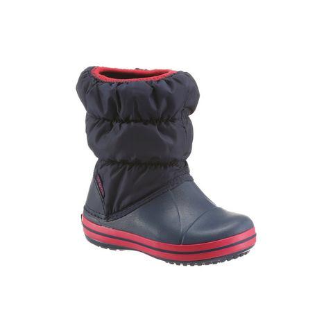 Crocs Laarzen Unisex Navy-Red Winter Puff
